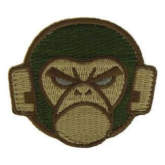 Mil-Spec Monkey Monkey Head Logo Patch Forest