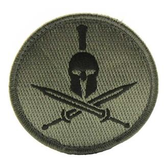 Mil-Spec Monkey Spartan Helmet Patch ACU-Dark