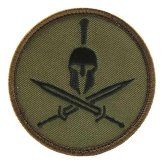 Mil-Spec Monkey Spartan Helmet Patch Forest