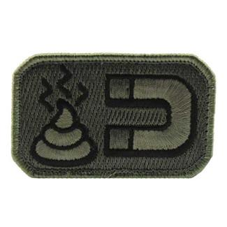Mil-Spec Monkey Shit Magnet Patch ACU-Dark