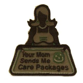 Mil-Spec Monkey Your Mom Sends Patch Arid