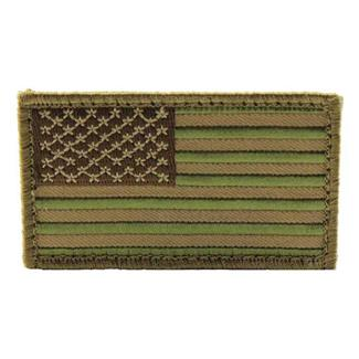 Mil-Spec Monkey US Flag Patch Multicam