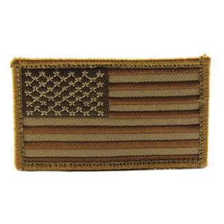 Mil-Spec Monkey US Flag Patch Desert