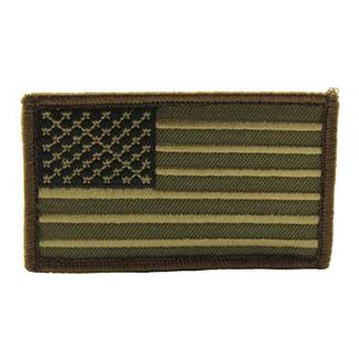 Mil-Spec Monkey US Flag Patch Forest