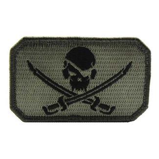Mil-Spec Monkey PirateSkull Flag Patch ACU-Dark