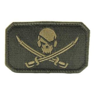 Mil-Spec Monkey PirateSkull Flag Patch ACU-Light