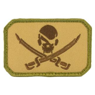 Mil-Spec Monkey PirateSkull Flag Patch MultiCam