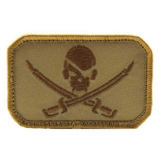 Mil-Spec Monkey PirateSkull Flag Patch Desert