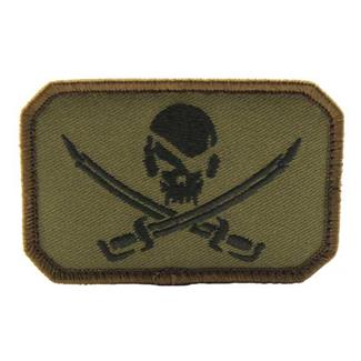 Mil-Spec Monkey PirateSkull Flag Patch Forest