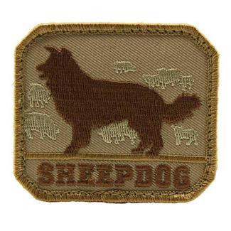 Mil-Spec Monkey Sheepdog Patch Desert