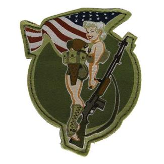 Mil-Spec Monkey BAR Girl Patch Full Color