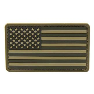 Mil-Spec Monkey US Flag PVC Patch ACU-Light