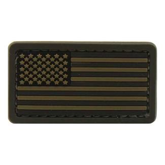 Mil-Spec Monkey US Flag PVC Mini Patch ACU-Dark