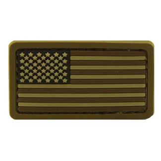 Mil-Spec Monkey US Flag PVC Mini Patch Desert