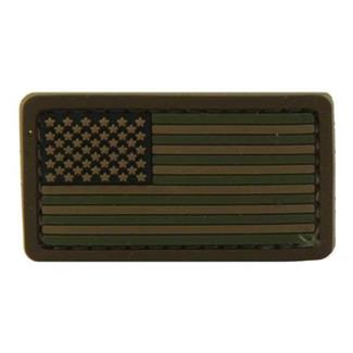 Mil-Spec Monkey US Flag PVC Mini Patch Forest