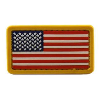 Mil-Spec Monkey US Flag PVC Mini Patch Full Color