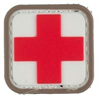 "Mil-Spec Monkey Medic Square 1"" PVC Patch Medical"