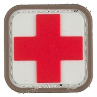 "Mil-Spec Monkey Medic Square 1"" PVC Patch Medical"