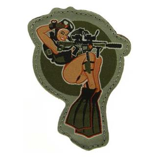 Mil-Spec Monkey Dive Girl Patch Full Color