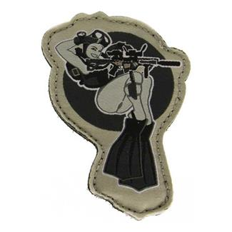 Mil-Spec Monkey Dive Girl Patch Swat