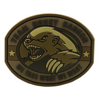 Mil-Spec Monkey Honey Badger PVC Patch Desert