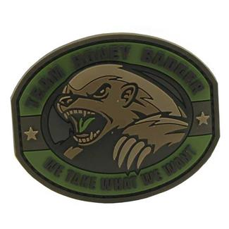 Mil-Spec Monkey Honey Badger PVC Patch Forest