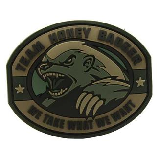 Mil-Spec Monkey Honey Badger PVC Patch ACU