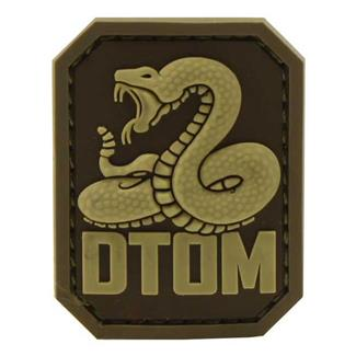 Mil-Spec Monkey DTOM PVC Patch Desert