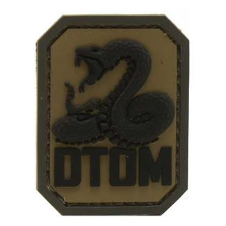 Mil-Spec Monkey DTOM PVC Patch ACU-Dark