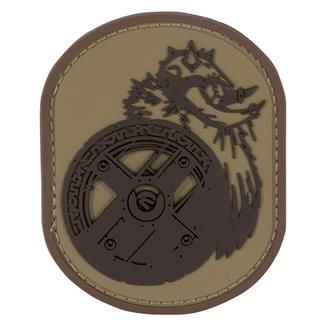 Mil-Spec Monkey Berserker PVC Patch Desert