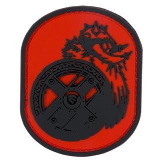 Mil-Spec Monkey Berserker PVC Patch Red