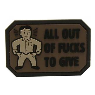 Mil-Spec Monkey All Out PVC Patch Swat
