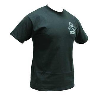 Mil-Spec Monkey Zombie Stencil T-Shirt Black