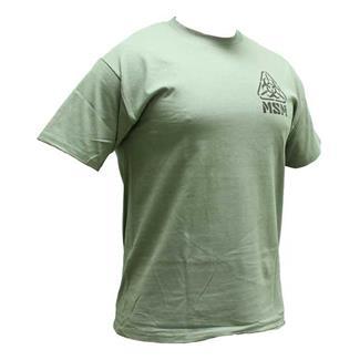 Mil-Spec Monkey Zombie Stencil T-Shirt Dusty