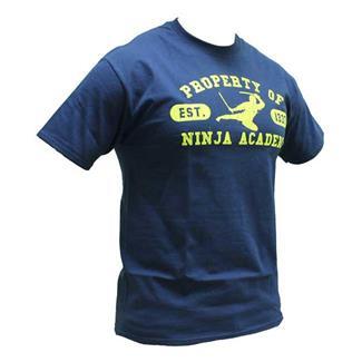 Mil-Spec Monkey Ninja Academy T-Shirt Navy