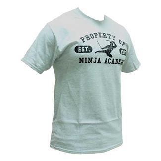 Mil-Spec Monkey Ninja Academy T-Shirt Athletic Gray