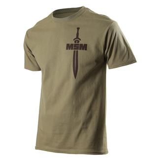 Mil-Spec Monkey Spartan T-Shirt Dusty Brown