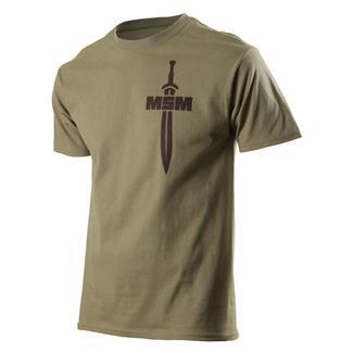 Mil-Spec Monkey Spartan T-Shirt Dusty Brown