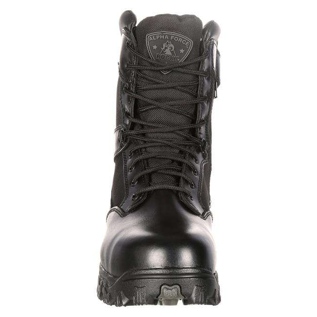 "Rocky 8"" Alphaforce CT SZ WP Black"