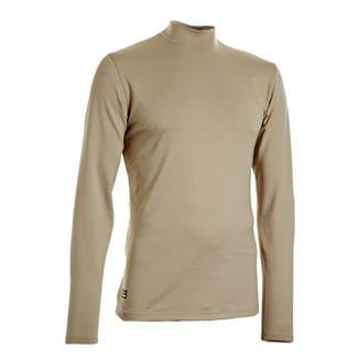 Under Armour Tactical ColdGear Mock Shirt Desert Sand