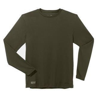 Under Armour Tactical HeatGear LS Tee Marine OD Green
