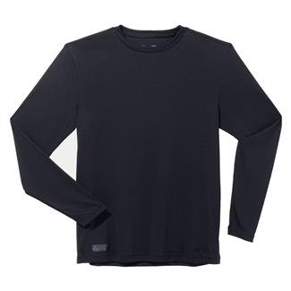 Under Armour Tactical HeatGear LS Tee Dark Navy Blue