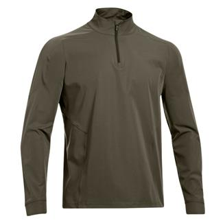 Under Armour Tactical ColdGear 1/4 Zip Jacket Marine OD Green