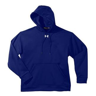 Under Armour Fleece Team Hoodie Royal Blue