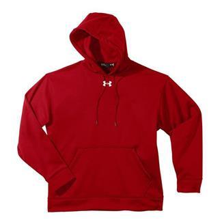 Under Armour Fleece Team Hoodie Red