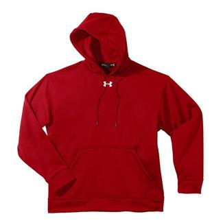 Under Armour Fleece Team Hoodie Red