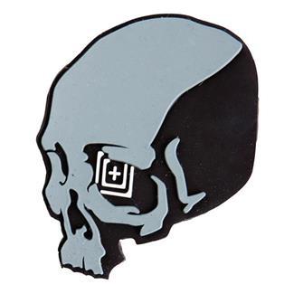 5.11 Skull Shot Patch Gray