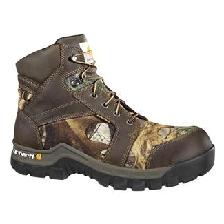 "Carhartt 6"" Work-Flex CT WP Brown / Camo"