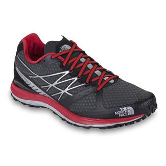 The North Face Ultra Trail Dark Shadow Gray / TNF Red