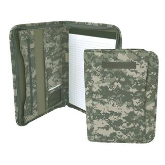 Mercury Luggage Zippered Padfolio Army Digital